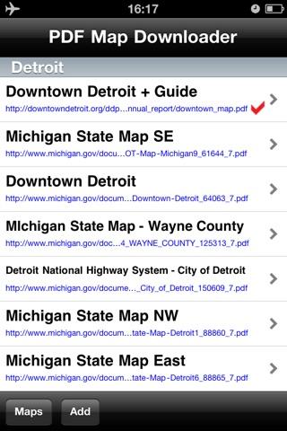 Detroit Maps - Download Smart Bus Maps and Tourist Guides. screenshot 2
