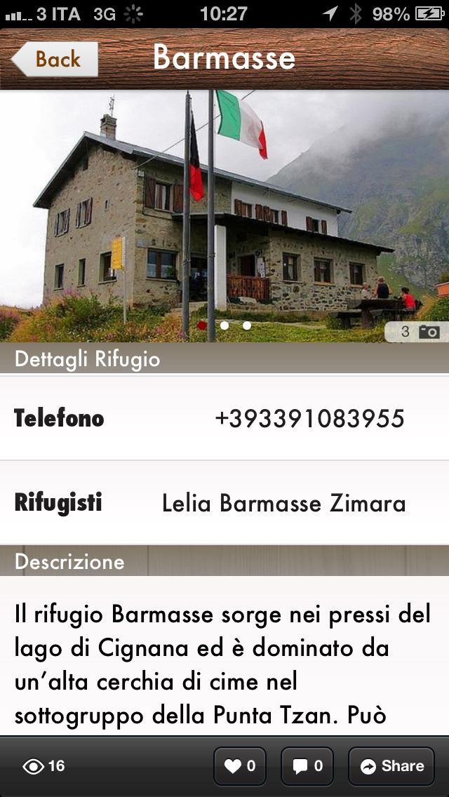 Screenshot of Alte Vie della Valle d'Aosta4