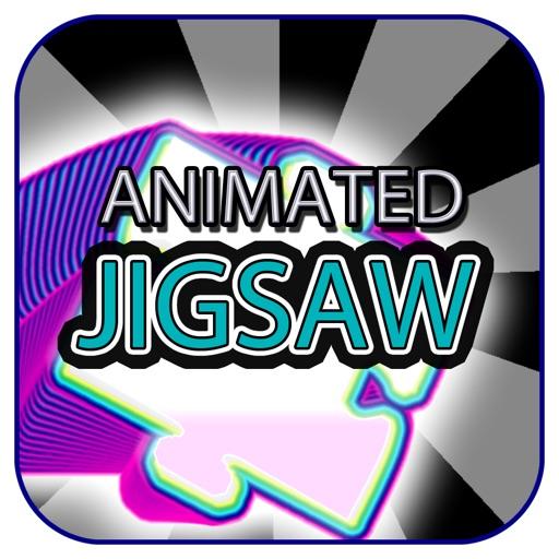 Animated Jigsaw Arty Elements iOS App