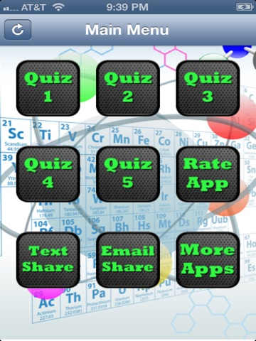 Periodic table of elements quiz on the app store ipad screenshot 1 urtaz Images