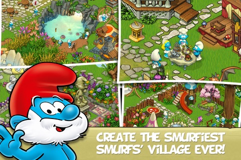 beeline smurf village problems