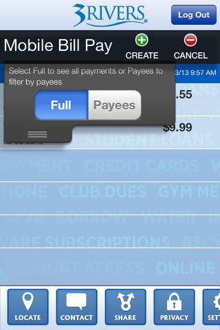 3Rivers Mobile Bill Pay screenshot 3