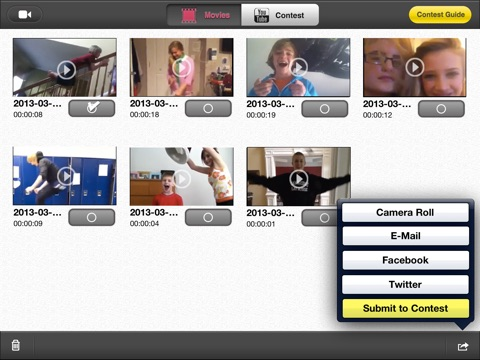 how to make videos go backwards on imovie iphone