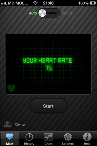 HeartBeat Pro - Heart Rate Monitor screenshot 2