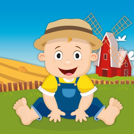 Milo's Mini Games for Tots and Toddlers - Barn and Farm Animals Cartoon iOS App