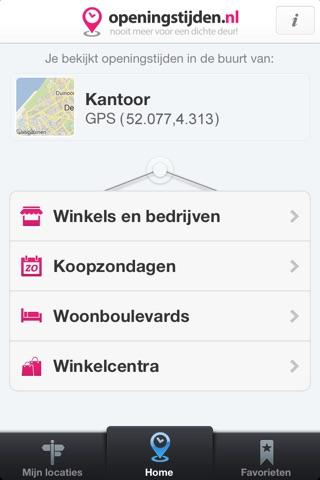 Openingstijden.nl - Openingstijden & Koopzondagen screenshot 2
