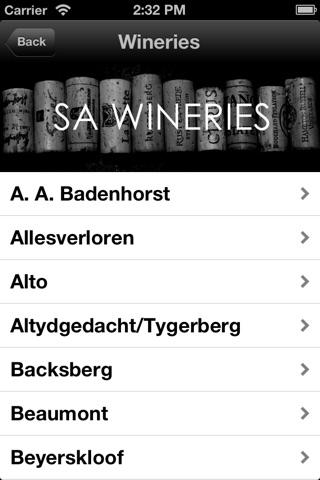WINE-LIST.ME/SA screenshot 1