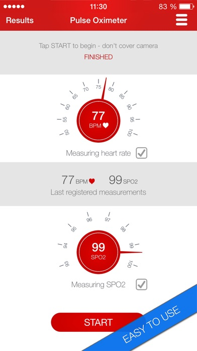 Pulse Oximeter - Heart Rate and Oxygen Monitor App app