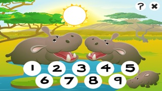 Screenshot of 123 Primo-s & Count-ing Learn-ing Game With Wild Animal-s For Kids5