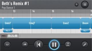 Screenshot #2 pour SessionBand for iPhone