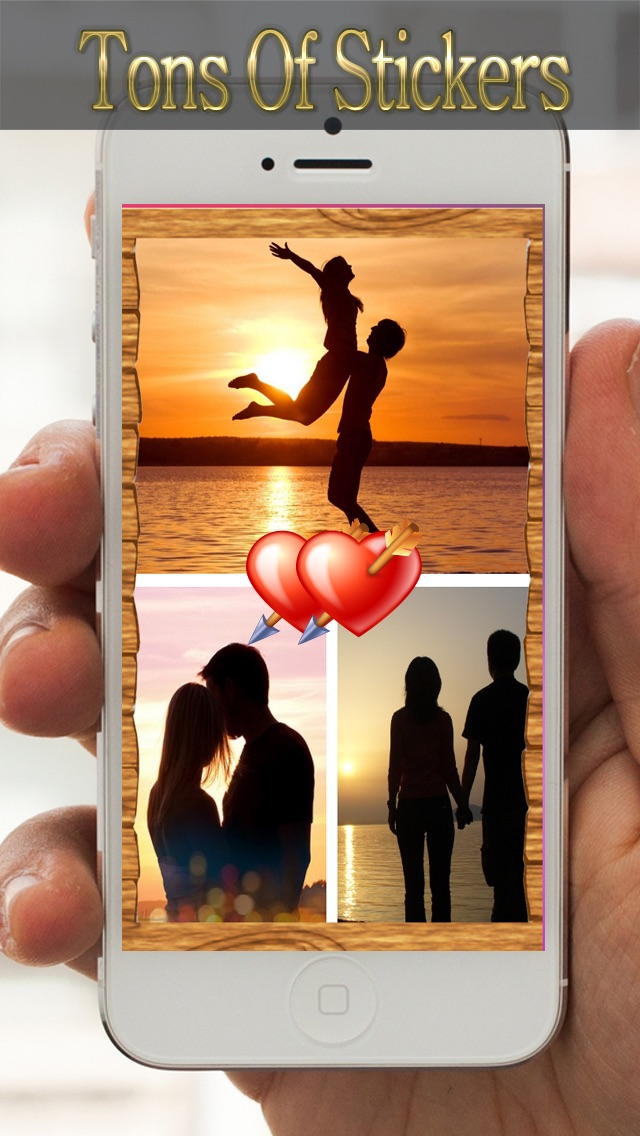 Screenshots of Photo Joiner Free App - You Pic Collage & Image Frame for iPhone