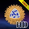 Science - Microcosmos 3D HD Free : Bacteria, viruses, atoms, molecules and particles
