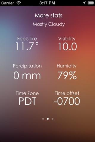Minimalist Weather screenshot 3