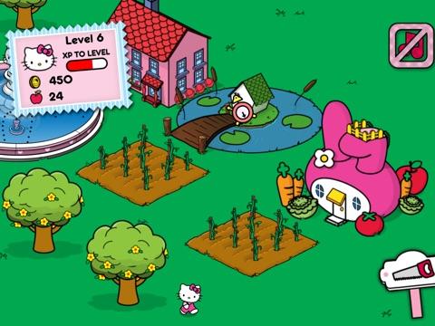 Счастливый город Hello Kitty для iPad