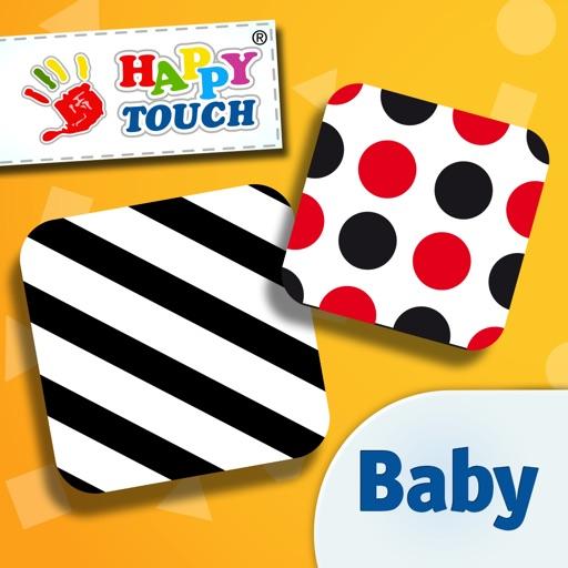 baby 39 s erste app muster und formen f r neugeborene kontrast spielzeug von happytouch bei. Black Bedroom Furniture Sets. Home Design Ideas