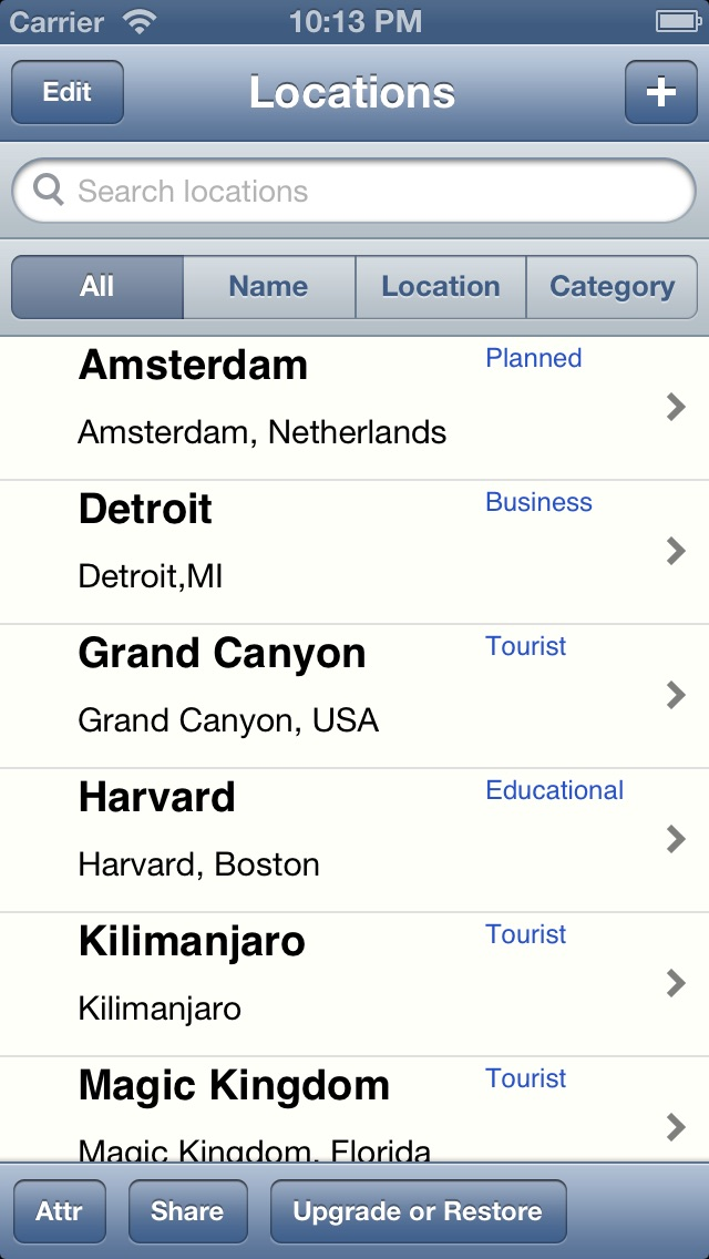 download Locations List for Google Maps apps 3