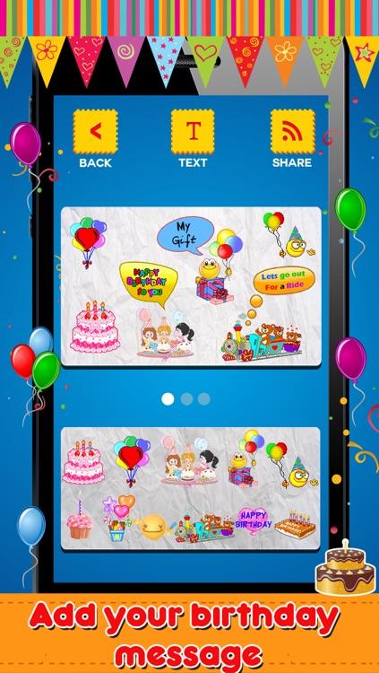 Animated 3D Birthday Emoji Wishes Cards Emoticons
