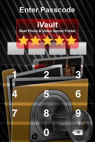 Vault* Free - Hidden Photo & Video Safe for iPhone, iPad & iPod Touch screenshot 1
