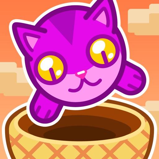 接住小猫:Cat Basket