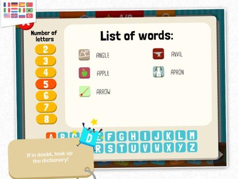 KidEWords - Cruciverba per bambini Screenshot