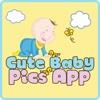 Süße Baby Bilder - eine Foto-Galerie-App