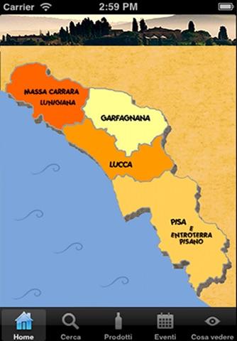 Terre e sapori di Toscana screenshot 2