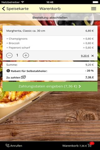 pizza mann Augsburg screenshot 3