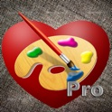 I Love To Paint Pro - Drawing and photo editing application icon