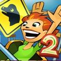Jurassic 3D Rollercoaster Rush 2 icon