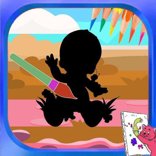Coloring Books For Kids Precious Moments Cartoons Edition iOS App