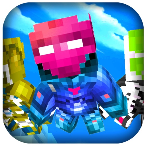 Super-Hero Craft 3D -  For Steppy Blocky Iron-Man Edition iOS App