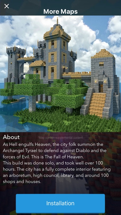 Castle Maps For Minecraft PE The Best Maps For Minecraft Pocket - Die besten maps fur minecraft pe