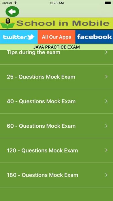 Examen pratique de JavaCapture d'écran de 1