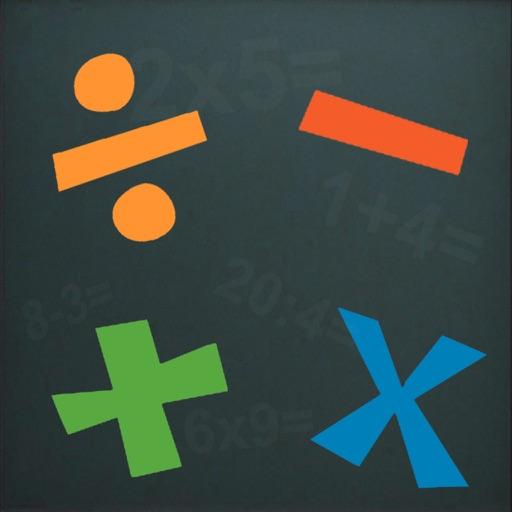 Mathematics 1-100 + - *: iOS App