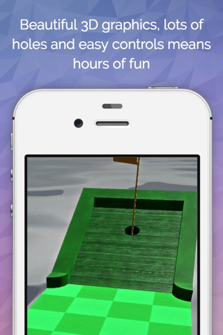 Minigolf 3D Ultimate screenshot 1