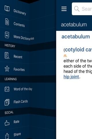 Oxford Medical Dictionary screenshot 1