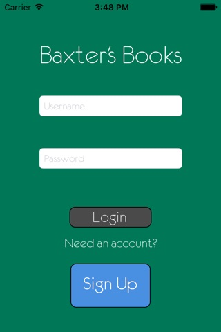 Baxter's Books screenshot 1