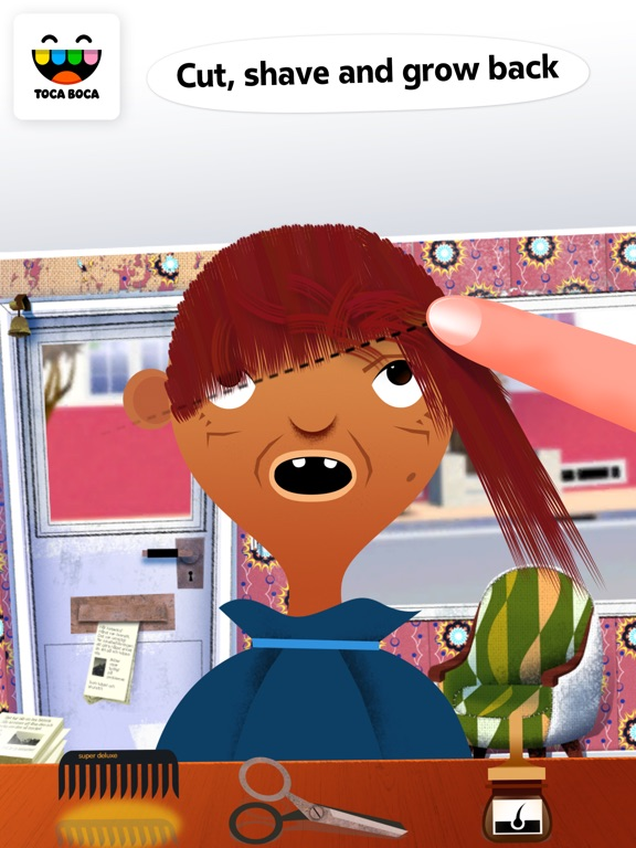 Screenshot #3 for Toca Hair Salon