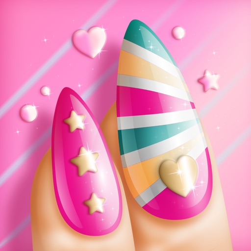 Nail Polish Games For Girls: Do Your Own Nail Art Designs in Fancy Manicure Salon iOS App