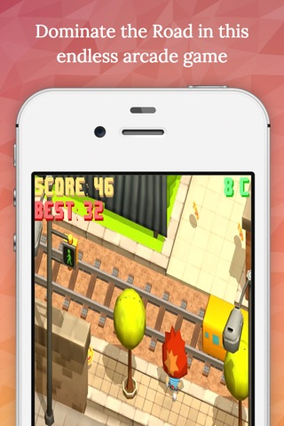Crazy Road - Endless Arcade Game screenshot 1