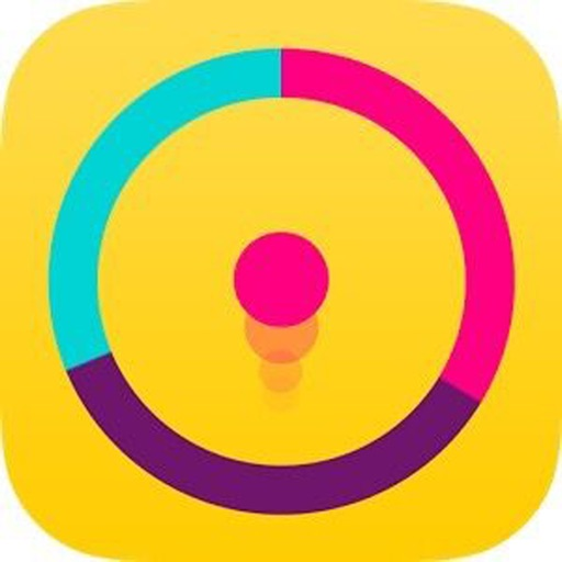 Color Cross Valley - Smallest Size Switch Ball Color Game iOS App