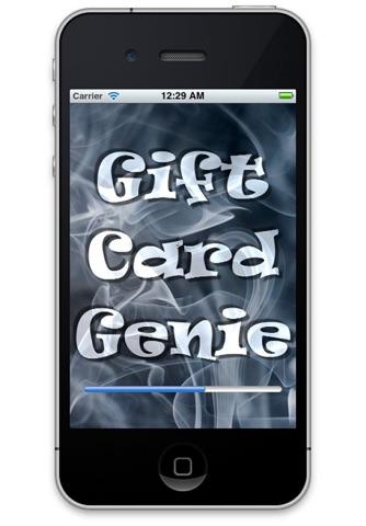 Gift Card Genie screenshot 1