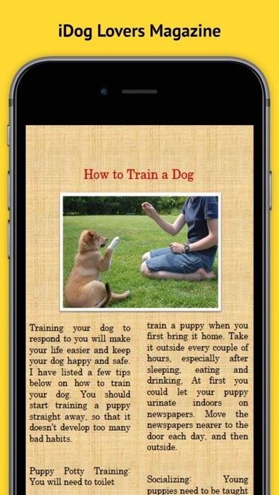Idog Magazine review screenshots