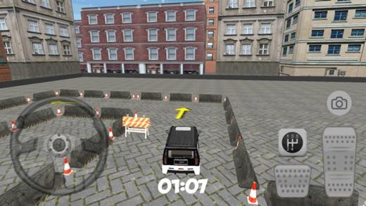 Ücretsiz araba park etme oyunu - hummer jeep park etme app store'da