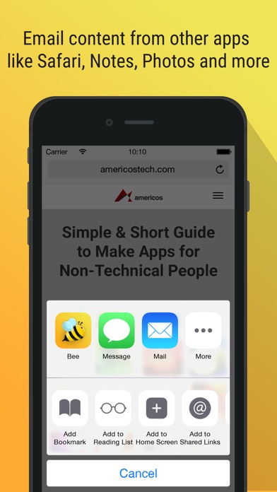 download Bee - Email Smart and Fast apps 0