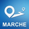 Marche, Italy Offline GPS Navigation & Maps
