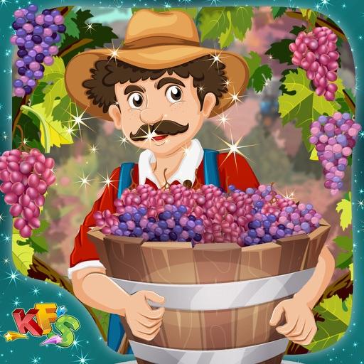 Grapes Farming – Crazy little farmer's farm story game for kids iOS App