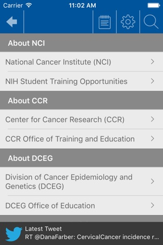 NCI @ NIH Summer Internship Program screenshot 4