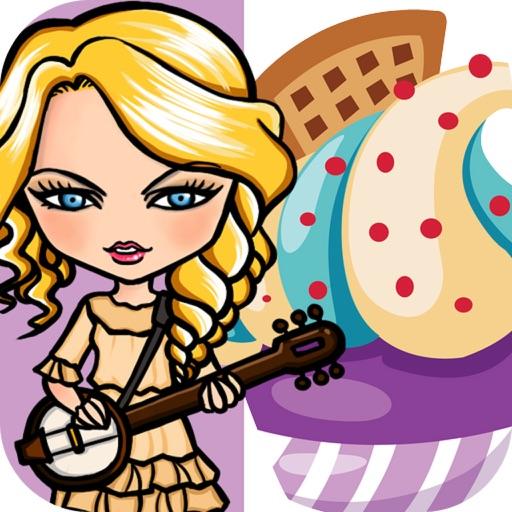 Music Star vs Cupcake - Sweet Taylor Swift Edition iOS App