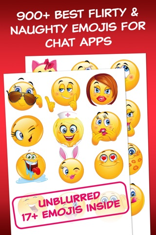 Adult Dirty Emoji - Extra Emoticons for Sexy Flirty Texts for Naughty Couples screenshot 1